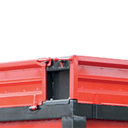 Öffnungsbare Bordwanderweiterung 40 cm Höhe