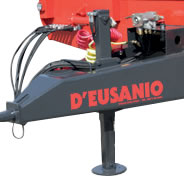 Hydraulic stand foot