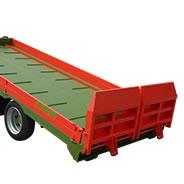 Hydraulic rear ramps