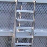 Inspection stepladder