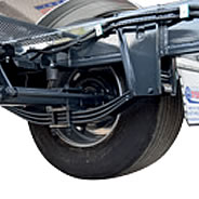 Leaf spring suspensions