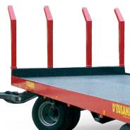 Supporto anteriore per rotoloni con Q.70X70mm