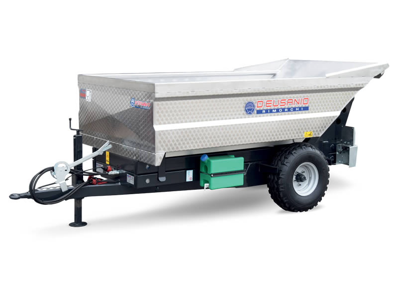 Farming trailer with auger emptyng system. Up to 6.000 kg capacity