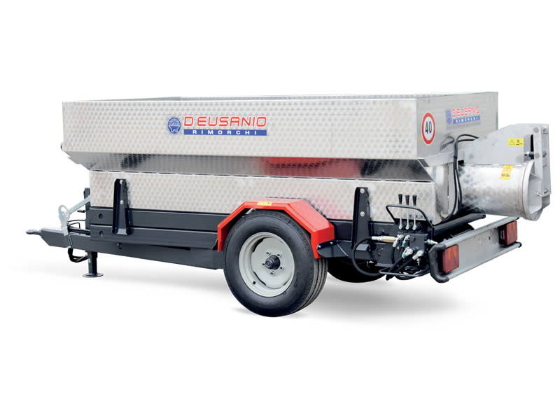 Farming trailer with auger emptyng system. Scissor lift system available. Up to 6.000 kg capacity